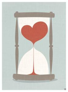 clessidra cuore